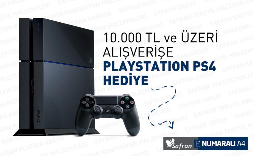 10.000TL ve Üzeri Yapacağınız Alışverişlerinize PS4 Hediye