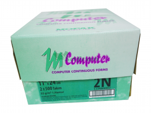 Mopak Sürekli Form Kağıdı 11x24 - 2 Nüsha 5,5 Perforeli (500 Lü)