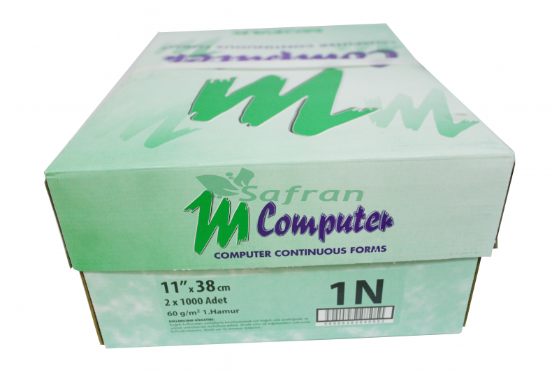 Mopak Sürekli Form Kağıdı 11x38 - 1 Nüsha 60gr. (1000 Li)