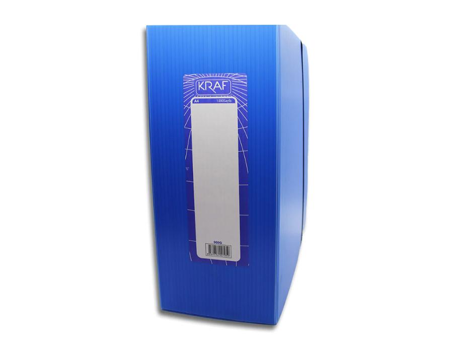 Numaralı A4 Arşiv Dosyası Kraf 900g ( 1000 li )